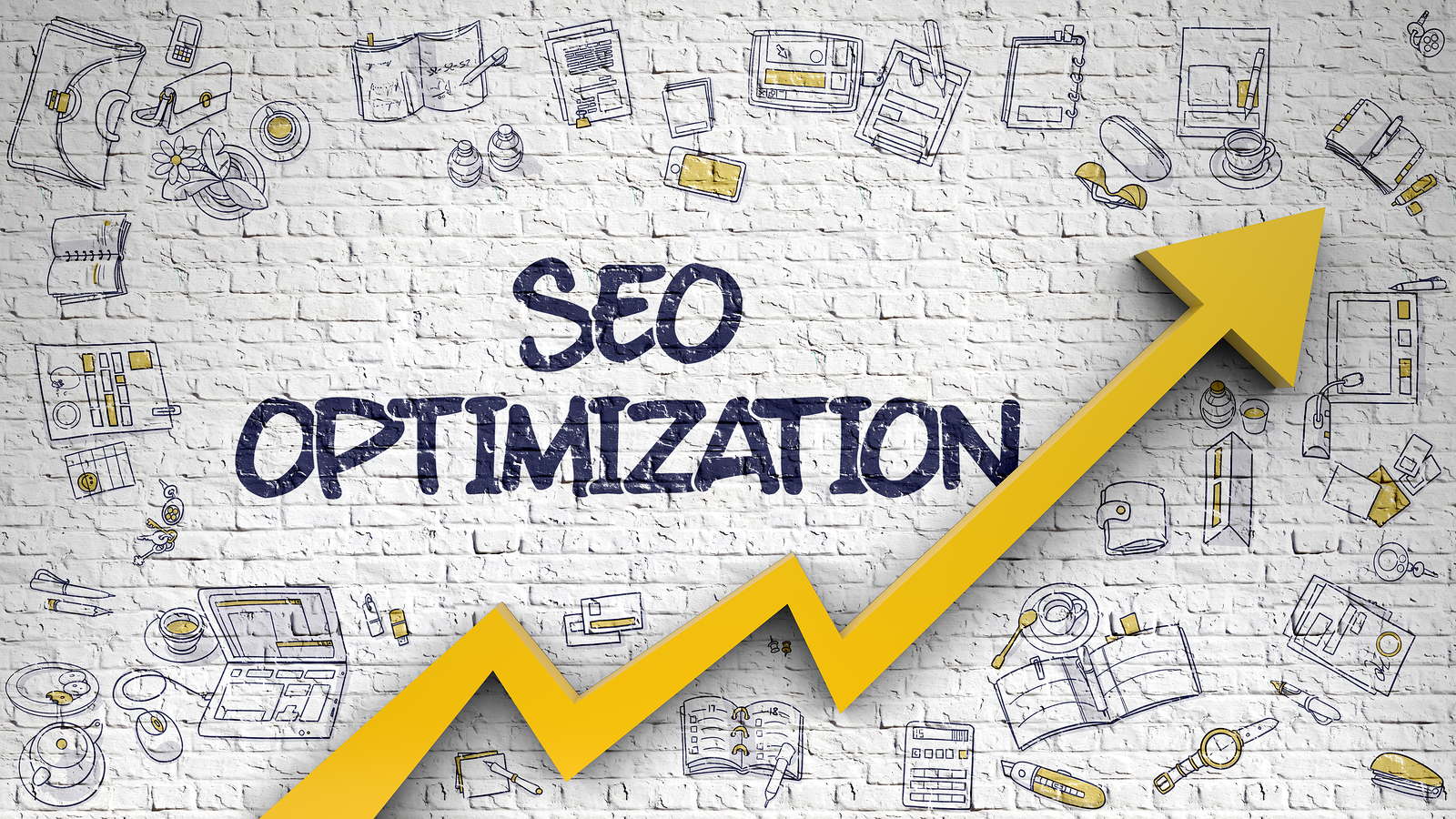 White Brickwall with SEO Optimization