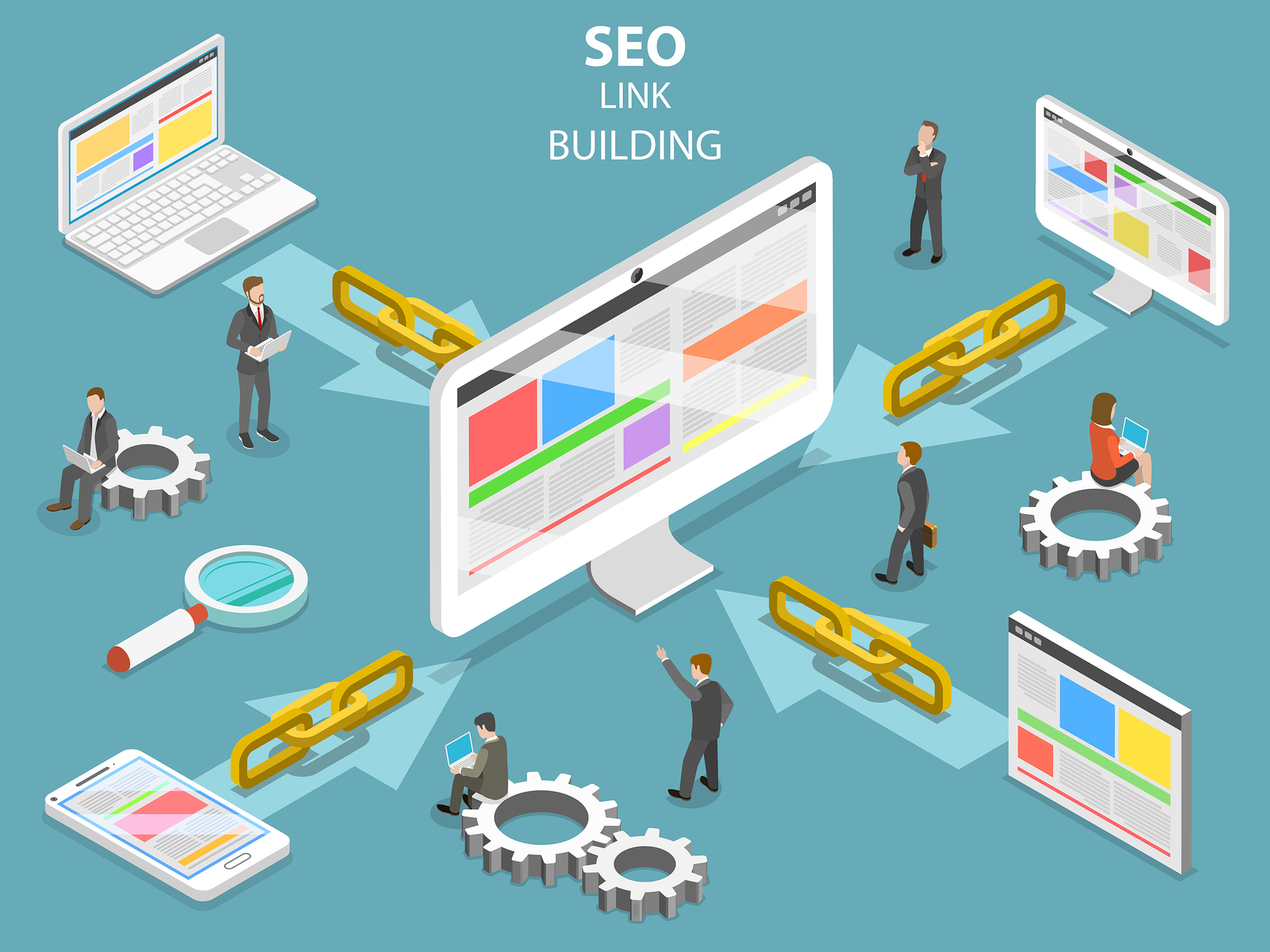 Image result for Perfect link building